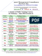 Synerquest-Public Training Calendar for February-June 2015 Ver3