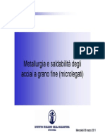 13a- Saldabilità Acciai Microlegati (2011)
