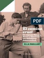 4 - El Camino Cruel - Muestra de Lectura - Paginas