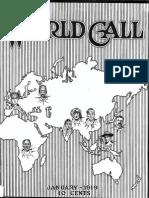 World Call January 1919