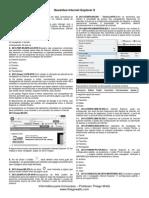 Questões - Internet Explorer 8