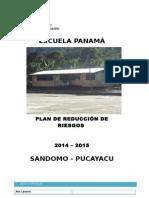 Plan de Reduccion de Riesgos Panamá