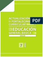Actualizacion Curricular 7 Año