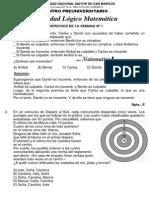 Solucionario Semana 1 Manual Pre San Marcos 2015 i Pre San Marcos PDF