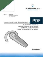 Auricular Plantronics