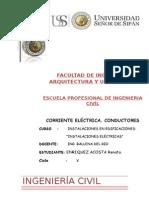 Corriente Electrica y Conductores