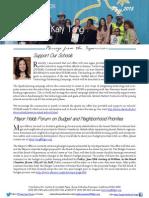 Supervisor Tang May Newsletter