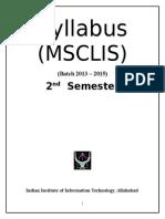 2nd semMSCLIS