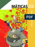 MATEMÁTICAS III 3° GRADO VOLUMEN I Libro del maestro - TELESECUNDARIA.pdf