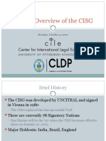 Overview of Cisg