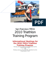 2010 Triathlon Training Program