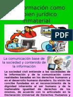 La Informacion Como Un Bien Juridico Inmateral