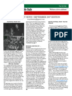 september 2007 newsletter