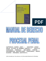 Cafferata Nores, J.- Balcarce, F.- Otros- Manual de Derecho Procesal Penal[1].pdf