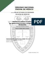 Perspectiva Jurídico–Filosófica Del Derecho de Autor en La Sociedad de La Información