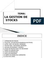 La Gestion de Los Stocks
