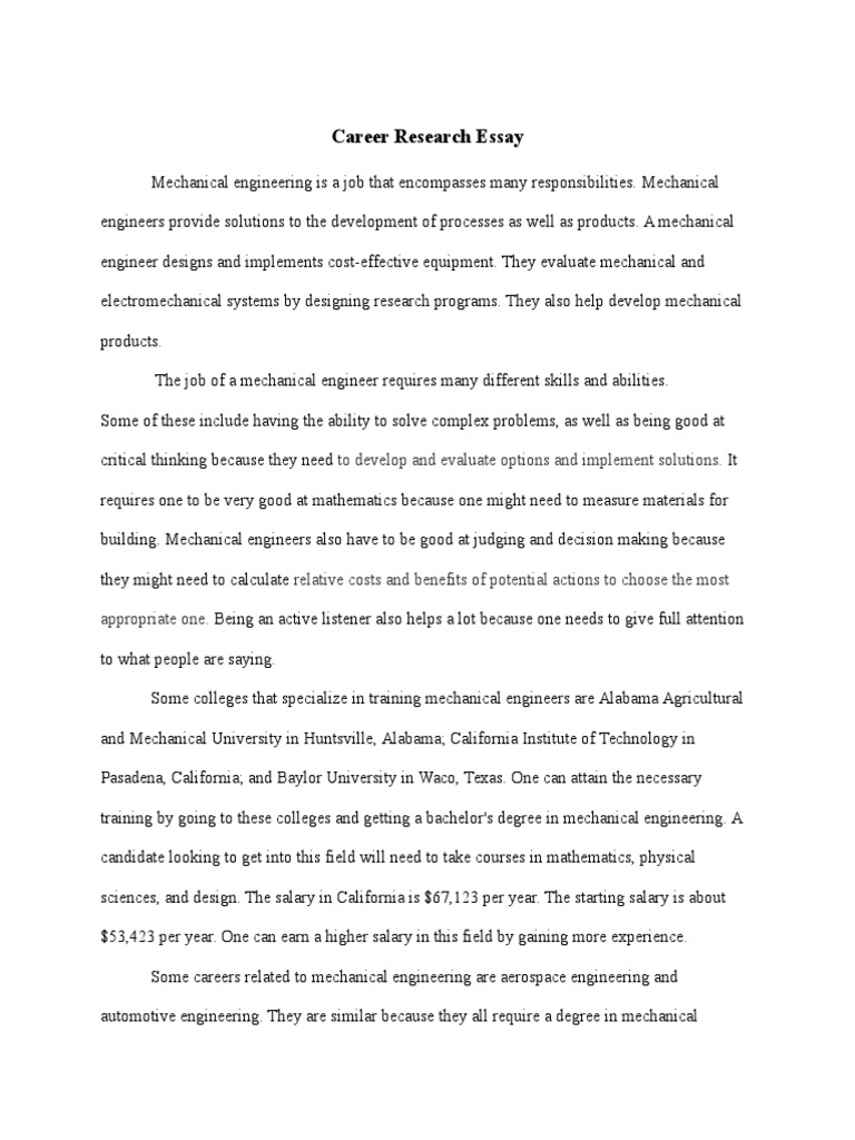 Why engineering essay cover letter for political science graduate
