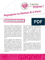 Appel à signer la MotionB Paris