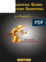 The Essential Guide to Mystery Shopping
