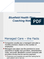 BLUEFIELD CASE STUDY
