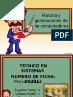 historia de generaciones de los computadores