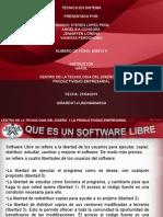 software libre y propietario