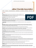 .Dictionary of the American Leather Chemists Association