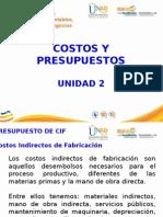 Presentacion Unidad Dos Costos y Pptos