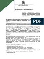 Resolucao 03 Registro Diplomas Ensino Tecnico de Nivel Medio