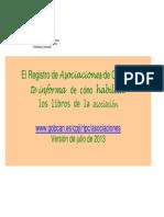 Cxmo Habilitar Los Libros de Asociaciones[1]