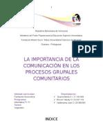 Procesos de Comunicion