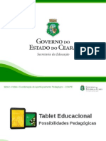 Tablet Educacional - Possibilidades Pedagogicas
