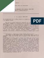 Cruz, Isabel - La Cultura Escrita en Chile 1650-1820
