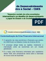 Cdes Crise Economica