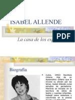 Isabel Allende y Su Obra