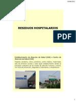 Clasificacion de ReClasificacion de Residuos Hospitalariossiduos Hospitalarios