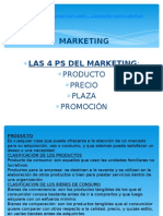 Las 4 P Del Marketing