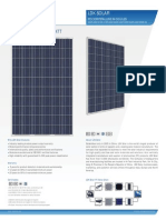 250 Watt Solar Panel Specifications