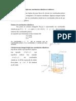 Integrais Triplas - Coordenadas Polares e Cilindricas