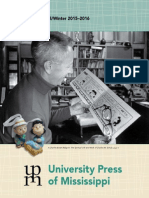 University Press of Mississippi Fall-Winter 2015-2016 catalog
