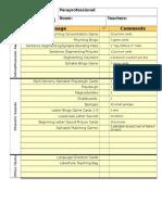 paras inventory bag checklist 2015