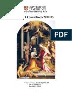 Part I Coursebook 12-13 (1)