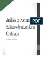 Clase 05 Analisis Estructural