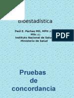Pruebas de Concordancia Dr Paul Pachas Ok