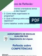 COMPETÊNCIAS - Documento de Reflexão