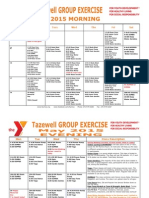 Tazewell May 2015 Group Exercise