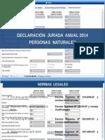 Renta Personas Naturales 2014.pptx