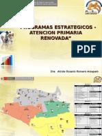 5 Programas Estrategicos 2011 APS Renovada