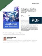 Javascript Para Disenadores