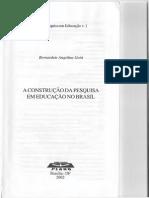 A Construção Da Pesquisa Em Educação No Brasil_Gatti